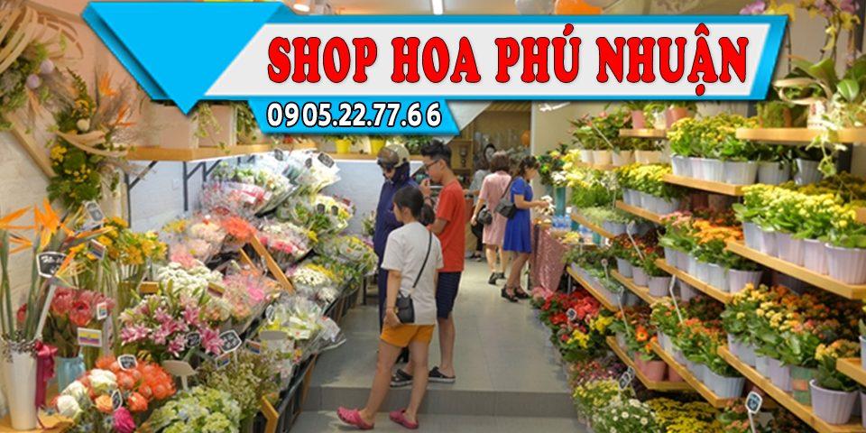 Cửa Hàng Hoa Tươi ở Phú Nhuận, Giao Hoa Tận Nhà Miễn Phí