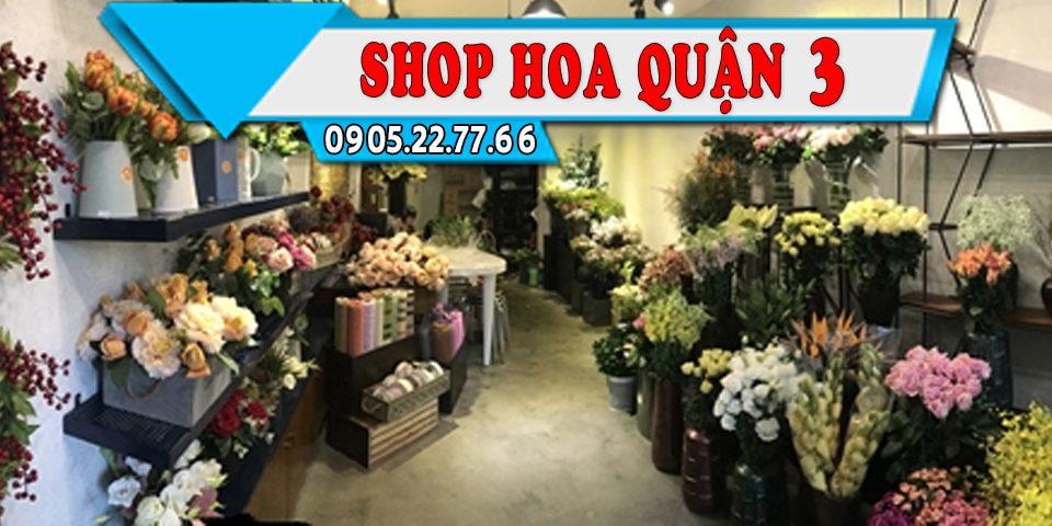 Shop hoa Tươi Ở Quận 3, Giao Hoa Tận Nhà Miễn Phí