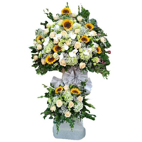 Kệ hoa chúc mừng khai trương, Lẵng Hoa Khai Trương cửa hàng, công ty, Giỏ Hoa Chúc Mừng Khai Trương, Dịch vụ tặng hoa tận nhà, giao hoa miễn phí ship