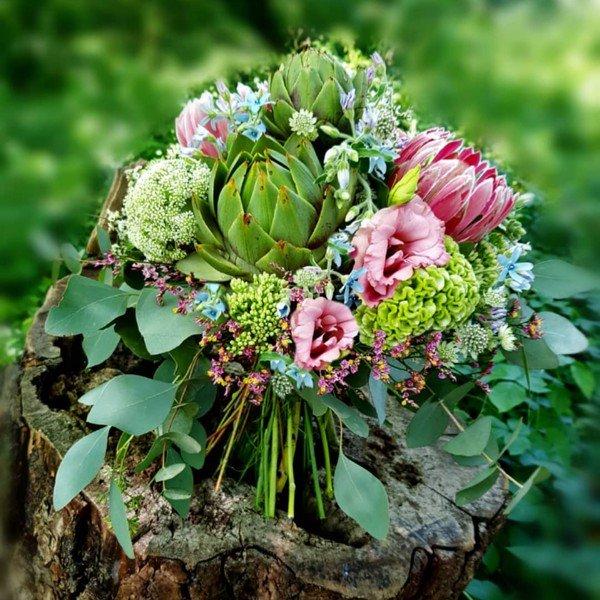 Bó Hoa Atiso đẹp